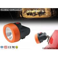 Buy cheap OEM Safety Miners Helmet Light , ABS Materials 2.8Ah Hard Hat Headlamp product
