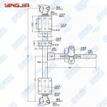 Buy cheap 342131/322131   1 inch tube / 34MM diameter galvanized van van trailer soft-door locks product