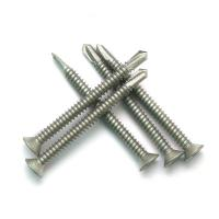 Quality CSK Head Compound Self Drilling Screw , Flat Head Bi Metal Self Drilling Screws for sale