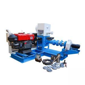 Buy cheap Automatic Fish Feed Making Machine , 220V 380V Floating Fish Feed Machine product