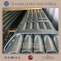 Buy cheap ERW Hot Dipped Galvanized Pipe Q235 48.3mm Diameter plastic packing product