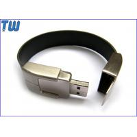 Buy cheap PU Leather Solid Wristband USB Chip 4GB USB Memory Stick Drive product