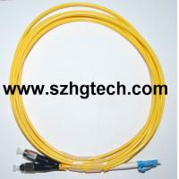 Buy cheap FC/LC Duplex Single Mode Optical Fiber Patch Cord product