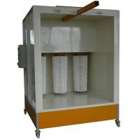 Buy cheap Open Face Powder Spray System 1.5kW Drive System 2 Filter Cartridges product