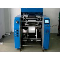 Buy cheap 5 Shafts Automatic PE Cling Stretch Film Rewinding Machine , High Speed product