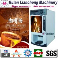 Buy cheap coffee vending machine cups Bimetallic raw material 3 in 1 microcomputer Automatic Drip coin operated instant product