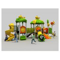 Buy cheap Residential Childrens Plastic Slide Set , Outdoor Play Equipment For Kids product