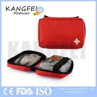 China CE ISO FDA Approved KF419 Small Size Portable 18 pieces Red mini first aid kit 2017 on sale