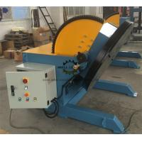 Buy cheap Heavy Duty Pipeline Rotary Welding Positioner  With Rotate Motor And Tilt Motor product