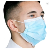 Buy cheap 3 Layer Ply Nonwoven Dust-proof and Fog-proof Earloop Disposable Face Mouth Masks Fast Shipping product