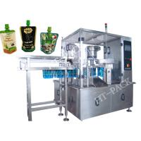 Quality Jam / Sauce / Milk Liquid Pouch Packing Machine With Injector , Stainless Steel Material for sale