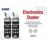 Buy cheap Electronics Duster Safe On All Plastics With Fast And Effective Removal Propellant Gas product