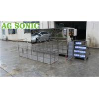 Buy cheap Large Industrial Ultrasonic Engine Cleaner 360L 28khz For Engine Block Car Parts product