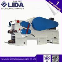 LIDA Electric Drum Wood Chipper LDBX216 Producng Wood Chips With CE For Sale