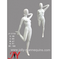 Buy cheap Jolly Mannequins- China mannequins factory female athlete sport stretching mannequin JY-ST04 product