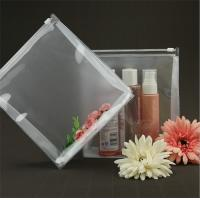 Buy cheap Lightweight Transparent Travel Toiletry Bag Bespoke 100% Handmade Sewing product