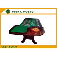 Buy cheap Green Poker Game Table With Roulette Gambling Casino Roulette Table product