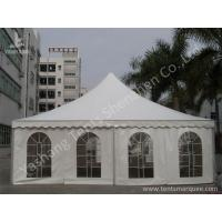Buy cheap Large Width High Peak Tents , Aluminum Frame Outdoor Party Tents 10x10m from Wholesalers