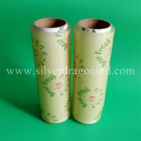 Fda approval high transparent pvc food cling film in 10 micron x 30cm
