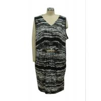 Quality Soft Drape Jersey Women'S Casual Dresses Ladies Summer Frocks Latest Design for sale