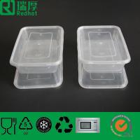 China recyclable and microwaveable plastic food container on sale