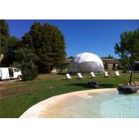 Buy cheap 6m Diameter Small Geodesic Dome Tent For Home , Party , Reception from wholesalers
