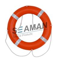 China 4kgs 720mm CCS / EC Cert Life Preserver Ring Marine Lifebuoy With Rescue Line Reflective Tape on sale