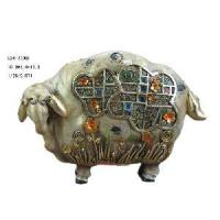 Buy cheap Polyresin Sheep Figurine Decoration (D24-78008) product
