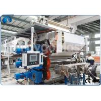 Buy cheap Single Screw Plastic Sheet Extrusion Machine Manufacturing Equipment High Capacity product