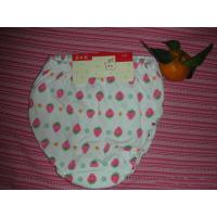 China OEM Polyester / Cotton Breathable  Printed Strawberry Organic Girls Underwear on sale