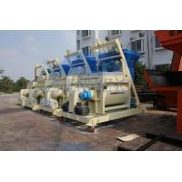 Buy cheap 1000L High Rigidity Twin Shaft JS1000 Concrete Mixer Machine CE / ISO90001 Approval product