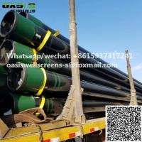 China API 5CT Grade J55 R2 seamless carbon steel casing pipe for well drilling on sale