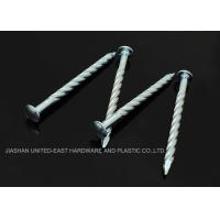 "Buy cheap Needle Point Electro Galvanized Twisted Nails 4"" X BWG7 Twisted Shank Nails Resist Corrosion product"