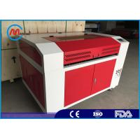 Buy cheap Red Small Wood Laser Cutting Machine , Co2 Desktop CNC Laser Cutter product