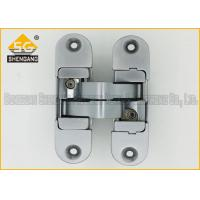 Zinc Alloy 3D Adjustable Invisible Door Hinges Hardware 180 Degree