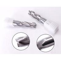 Buy cheap High Precision Carbide 3 Flute Rough End Mill Cutter For Aluminum Cnc Carbide Coating product