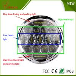 Buy cheap 7 Inch 75w LED Car Headlight DRL 12v 24v Driving Light for Jeep Hummer Camaro Fj product