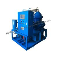Quality Pengertian OWS, CYA Oil Centrifuge machine, Oily Water Separator plant for sale