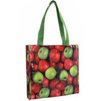 Reusable Grocery Bags Custom Printed Promotion Laminated Non Woven Bag