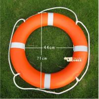 Buy cheap Orange Plastic Life Buoy Inflatable Boat Accessories with SOLAS 1974/1996 product