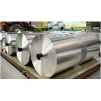 Buy cheap Customized AA1235 / AA8011 Aluminum Foil Bulk Roll , Mill Finish Aluminum Coil product