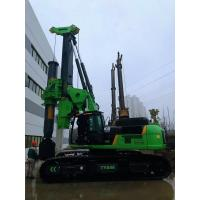 Buy cheap Piling equipment hire Green Color Compact Pile Driver Machine , Mini Piling Rig Diameter 2500mm product