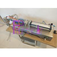 Buy cheap Single Head Liquid Filling Machine Semi-auto High Speed Easy Operation from wholesalers