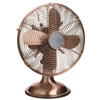 China SAA 12inch metallic Retro Table Fan strong air cooling with Adjustable tilting fan head on sale