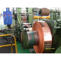Quality Industrial Thin Copper Strips / Copper Sheet Metal For PV Ribbon for sale
