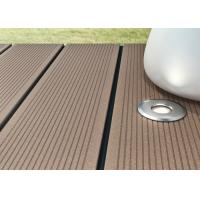 Buy cheap Recyclable Wood Plastic Composite Decking Board For Outdoor Balcony from wholesalers