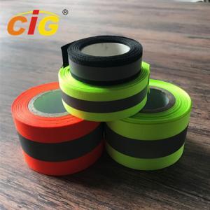 China Sew / TC Retro Reflective Tape Reflective Safety Vests For Hi - Viz Garments on sale
