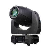Buy cheap Light Weight Stylish MINI Housing 250 Watt LED Moving Head Spot IP20 DMX -512 With Rotating Gobo product