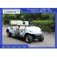 Buy cheap 4 Wheel 4 Person Electric Club Golf Cart Car 48V Battery Powered Without Roof product