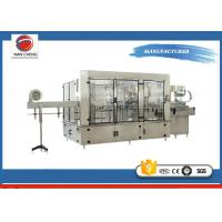 Buy cheap Aseptic Automatic Liquid Filling Machine 11KW , Sparkling Drinks Liquid Filling Line product